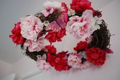 Project Nursery - floral wreath