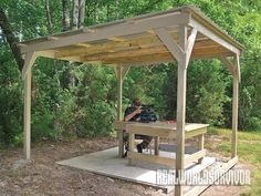 Upgrade your home gun range with a weatherproof shooting shed and ground cover!