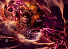 One Piece - Gear 4 by Luis Figueiredo