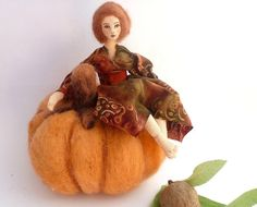 Give thanks for autumn.  by April Joyce on Etsy