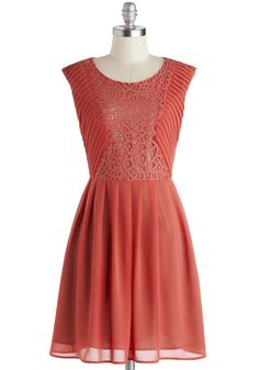 You Goji, Girl Dress. You exude a healthy glow whenever you slip into this party dress! #pink #modcloth
