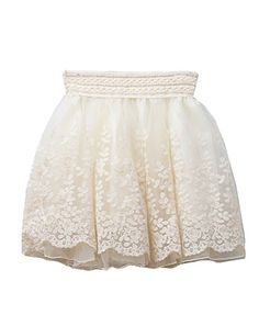 Retro Lolita Skater Skirt with Lace Details~ $21.75. It's not exactly my taste (too short) but it's close...