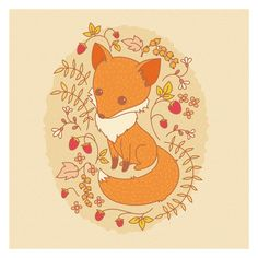 How to Create a Hand Drawn Fox Illustration in Adobe Illustrator : Medialoot