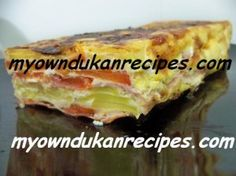 dukan recipe veggies cake