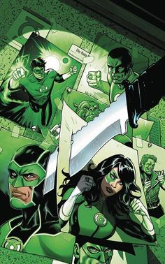 Green Lanterns #7 variant covers by Emanuela Lupacchino *
