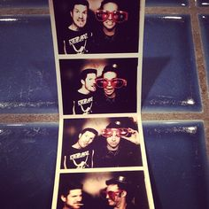 Pete and Andy! Photo booth.