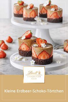 Mini Cakes, Cupcake Cakes, Yummy Snacks, Delicious Desserts, Yummy Food, Dessert Drinks, Dessert Recipes, Cocoa Cake, Gourmet Desserts