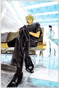 Yoichi Hiruma and Habashira Rui Manga Art, Anime Manga, Haikyuu, Manga Poses, Culture Pop, Noragami, Touken Ranbu, American Football, Aesthetic Anime
