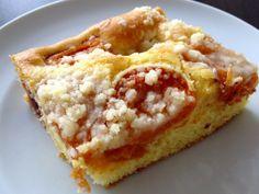 Apricot cake - Merunkovy kolac - www.senzarecepty.cz