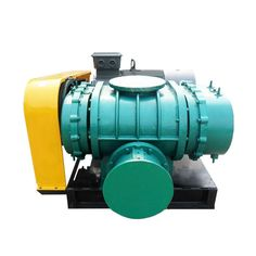 Air cooling three lobes type roots blower fan