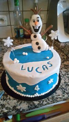 Peggy et ses petits plaisirs gourmands: Gâteau d'anniversaire Olaf