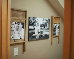 How to make an antique washboard photo display