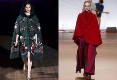 Tendenze moda Autunno Inverno 2014: cappe e mantelle