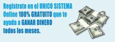 No pierdas más tiempo y comienza a ganar dinero ahora con el sistema que está revolucionando Internet... Regístrate gratis desde el siguiente enlace: http://gananciaz.com/ganardinero/liderempresarial