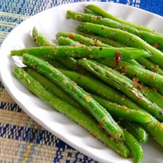 """Sauteed Garden Fresh Green Beans 