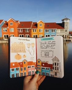 """Merel Djamila on Instagram: """"This is one of my favourite places to visit in my city. That's why I decided to make an illustration of it in my journal. I love this sunny…"""""""