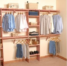 This is a great DIY project, wonderful for new construction or home remodel. Our 10' Deluxe Solid Aromatic Red Cedar Closet Systems come with solid shelf assembly ( so small objects can not fall throu