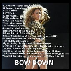 BOW DOWN