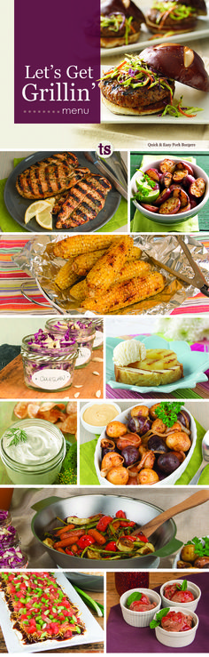 A flavorful backyard bbq? No problem thanks to the Let's Get Grillin' Menu. www.tastefullysimple.com/web/LTOTLEBEN