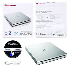 PRODUCT DETAILS : The BDR-XS06 slim slot portable USB 3.0 BD/DVD/CD burner is the next generation Blu-ray Disc burner from Pioneer. The BDR-XS06 has a smooth slot loading mechanism and [ ]