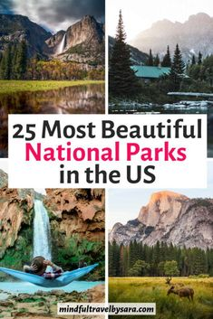 Looking for the Best National Parks in the US to visit? Here you have the most beautiful National Parks of USA, with photos and tips for the best trip ever! Us National Parks Map, American National Parks, Usa Travel Guide, Travel Usa, Travel Tips, Travel Destinations, Canada Travel, Alberta Canada, State Parks