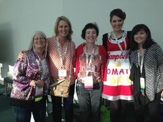 Wow- I was star struck by the super bloggers at NAEA14!  Phyl from There's A Dragon in my Art Room, Patty from Deep Space Sparkle, Rina from K-6 Art, Cassie from Cassie Stephens blog and me- Donna Staten.