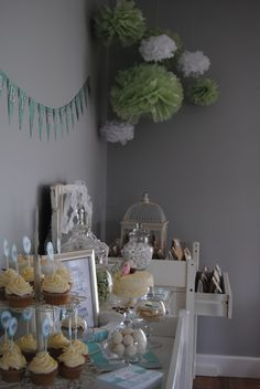 #Vintage #Baby #Shower by Whimsy Farm Parties
