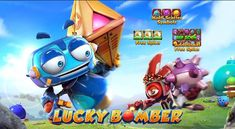 It's time to play and have some fun to earn extra robotic rewards in the Lucky Bomber Slot Game brought to you by Gameplay Interactive. Get ready because this game will surely bring you big prizes and will keep you entertained Slot Online, Have Some Fun, Online Games, Symbols, Entertaining, Play, Funny, Glyphs, Icons