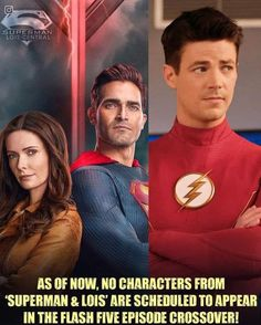 Flash Facts, Superman Lois, The Flash, Lineup, Crossover, Characters, Feelings, Movie Posters, Instagram