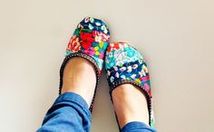 Bloomsbury slippers by {Leila} Where Orchids Grow, via Flickr