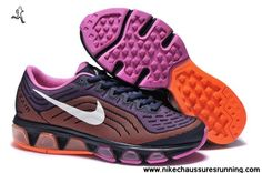 sports shoes ff0ef 3e660 Chaussures Pourpre Rose Orange Nike Air Max Tailwind 6 Femmes Chaussures  Nike Air Max Running,