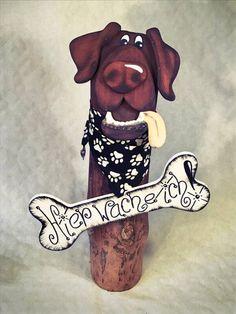 Die Rindenviecher – Holzkunst aus dem Norden Scooby Doo, Fictional Characters, Tree Structure, Figurine, Fantasy Characters