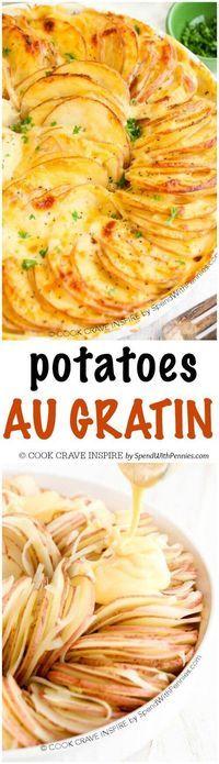 Skinny Scalloped Potato Gratin Recipe — Dishmaps