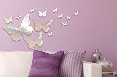13pc Butterfly Mirror Set