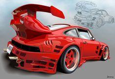 the Porsche by bandila on DeviantArt