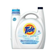 Tide Free Gentle Liquid Laundry Detergent, 150 fl oz Walmart.com ❤ liked on Polyvore featuring home, home improvement and cleaning