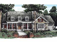 Eplans+Country+House+Plan+-+Top-Notch+Island+Kitchen+-+3915+Square+Feet+and+4+Bedrooms+from+Eplans+-+House+Plan+Code+HWEPL10932