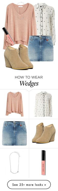 """all the luck in the world"" by deliag on Polyvore featuring Dorothy Perkins, MANGO, Replay, WithChic and Bobbi Brown Cosmetics"