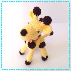 Stuffed Toy Giraffe  Amigurumi Giraffe Crochet by AmiAmiGocco