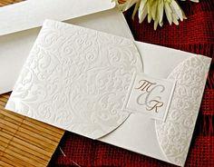 e029f4e26 48 imágenes sensacionales de Invitaciones de boda elegantes