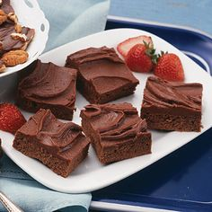 Big Batch Fudgy Brownies - Another brownie recipe that is baked in a  greased 15x10x1-inch baking pan.  Makes approximately 48 servings.