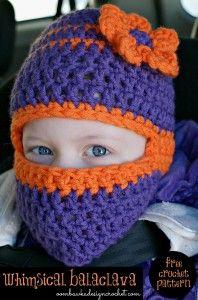 Whimsical Balaclava Free Crochet Pattern from  oombawkadesigncrochet