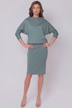 Дизайнерское платье со свободным верхом в интернет-магазине. | Skazkina