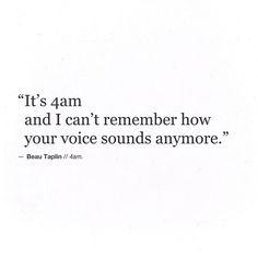 Beau Taplin | 4 am.