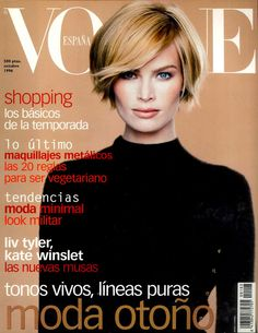 Meghan Douglas by Kelly Klein Vogue España October 1996