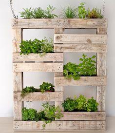 Indoor Garden Box reduced! reclaimed wooden planter boxes - rustic wooden pots