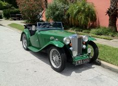 1937 MG TA, spotted one of these on my drive home yesterday