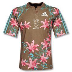 2afaa70fcdf1 Adidas 07-08 Stade Francais Home Rugby Shirt No description http   www