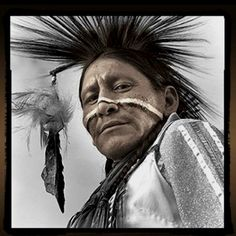 Native American (First Nations) man, Phil Borges