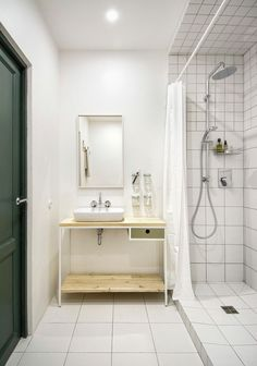 Een-prachtig-interieur-met-eenvoudige-en-goedkope-materialen #badkamer